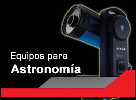 Telescopios, accesorios, observatorios, etc.