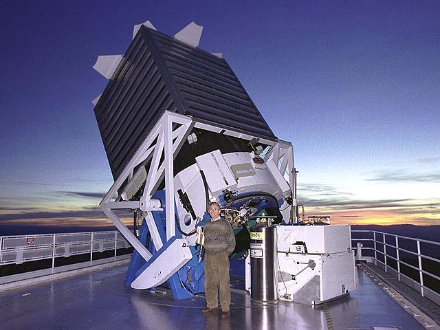 Resultado de imagen para Así es el telescopio Sloan Digital Survey
