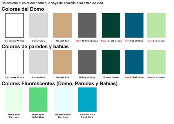 Kosmos scientific colores disponibles for Color arena pared