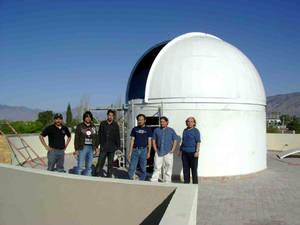 Observatorio astronómico de la Universidad Autónoma de Coahuila, México.